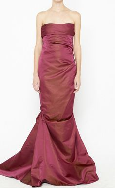 Shimmering Dress.
