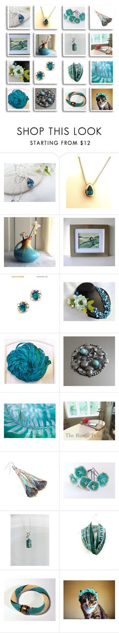 """Revisiting Treasuries"" by inspiredbyten ❤ liked on Polyvore featuring vintage"