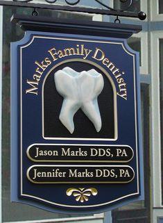 Marks Family Dental Sign | Danthonia Designs