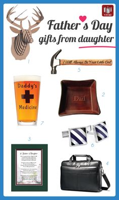 Fathers Day gifts from daughter. 2016 Father's Day Gift Ideas from Daughter
