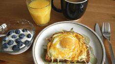 Hatalmas újítás: ilyen ropogós még nem volt a tükörtojás Cheese Toast, Egg Toast, Baked Eggs, Breakfast Recipes, French Toast, Pancakes, Oven, Bread, Baking
