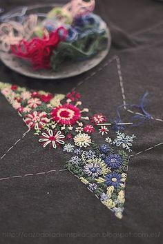 embroidered star - © Anna Tykhonova