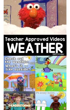 Teacher Approved Weather Videos Weather Activities for Kids Weather Activities Preschool, Weather Kindergarten, Teaching Weather, Kindergarten Science, Preschool Themes, Spring Activities, Science Classroom, Science Activities, Classroom Ideas