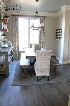 I'm back to share how the new Quick-Step, Envique flooring looks in my house! I chose the Maison Oak planks and I LOVE them! You can read more about them HERE. I love the grain and the texture of the floors. The color tone was perfect for my home because they have a grey look. {...Read More...}