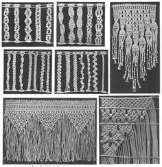 Image result for free macrame patterns and instructions