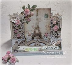 How to create a Center step Easel card (StampARTic)