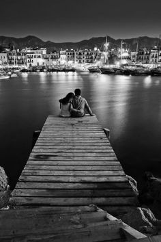 one day i'll get to sit on a dock like this and maybe there will even be stars to distract you from how dumb i look when i get lost in your eyes -28