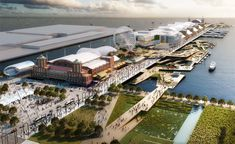 chicago navy pier proposal by aedas + martha schwartz partners