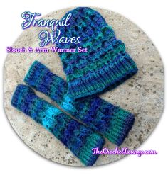 Tranquil Waves Convertible Slouch   Free Crochet Pattern   The Crochet Lounge™ #Crochet #FreePattern: http://thecrochetlounge.com/tranquil-waves-convertible-slouch-free-crochet-pattern/  #TheCrochetLounge #Slouch