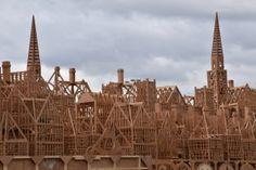 London's Burning model spires