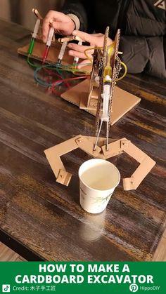 Cool Paper Crafts, Paper Crafts Origami, Fun Crafts, Diy Crafts Hacks, Diy Home Crafts, Diy Projects, Diy For Kids, Crafts For Kids, Instruções Origami