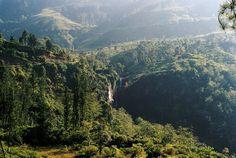 Sri Lanka | Waterfalls near Nuwara Eliya | HDYTI