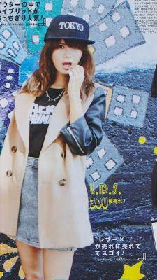 Vivi Magazine - Jan 2013  Leather Sleeves!
