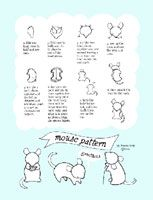 Sewing Stars-Mouse Pattern...to use for Christmas Mouse