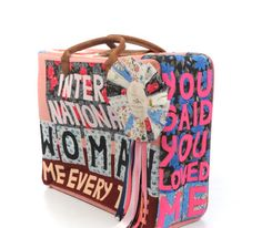 Bid now on International Woman Suitcase by Tracey Emin. View a wide Variety of artworks by Tracey Emin, now available for sale on artnet Auctions. Tracey Emin, Unique Drawings, Textiles, Personal History, English Artists, Feminist Art, Good Tutorials, Gcse Art, Textile Artists