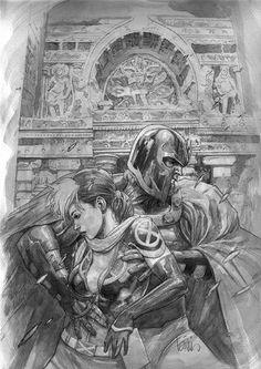 Magneto & Rogue - Leinil Francis Yu