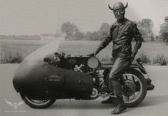 Luigi Cavanna (1906 - 1974) aka Il Diavolo Rombante (The Rumbling Devil).