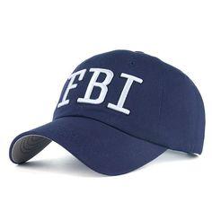 Unisex Leisure Cotton Embroidery Baseball C - FBI dd3e25cfa582