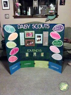 Daisy Scout Display Board