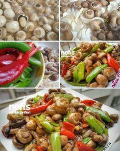 "1,435 Beğenme, 14 Yorum - Instagram'da Nefis Yemek Tarifleri (@nefisyemektarifleri): ""Nefis Zeytinyağlı Karamelize Mantar Tarifi 😘💕🍴 @alewturken34 'e tarif için teşekkürler…"" Appetizer Salads, Appetizers, Turkish Recipes, Ethnic Recipes, Homemade Beauty Products, International Recipes, Kung Pao Chicken, Gluten Free Recipes, Feta"