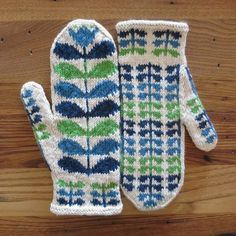 Project: Orla Mittens