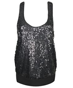 Try a classy yet sexy sequin tank with your meSheeky TRIXIE PANTS for a night out!