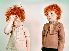 little gingers for Ola & Olek clothing company.
