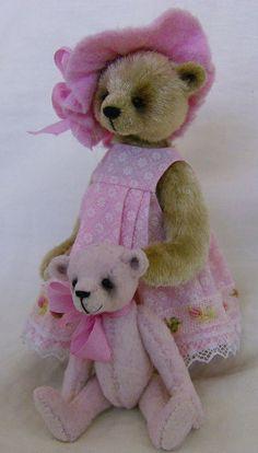 Pink Bear #teddy, #teddies, #bears, #toys, #pinsland, https://apps.facebook.com/yangutu