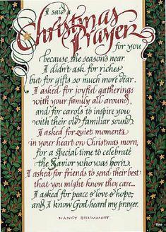 Christmas Things To Do | Prayer