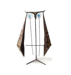 Brutal Modernist Metal Owl Sculpture by Ernesto by mascarajones