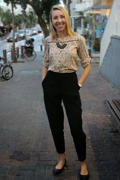 Street Style Tel Aviv: Button down shirt from Zara kids