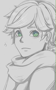 Find images and videos about miraculous ladybug, Chat Noir and Adrien on We Heart It - the app to get lost in what you love. Pencil Art Drawings, Art Drawings Sketches, Cute Drawings, Miraclous Ladybug, Ladybug Comics, Ladybug Anime, Adrien Miraculous, Arte Sketchbook, Anime Sketch