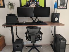 Built a standing desk and very pleased with it's functionality and appearance