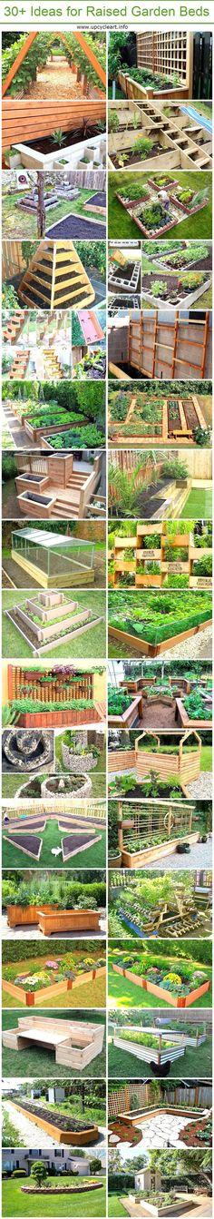 30+ Ideas for Raised Garden Beds