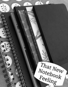 Today I'm shouting about Ryman Stationery's #brandnew campaign, celebrating the launch of their brand new website, so yes, I've been browsing over there. It really doesn't make much to lure me into perusing stationery! The first place that I usually look? Notebooks... Obviously, I look at plenty