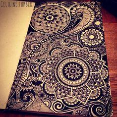 DETAILS #zentangle #doodle #drawing #moleskine #posca #illustration #sketchbook #sketches #sketching #notebook #artwork #zendoodle #creative #ink #doodling #artstag #artwork #bw
