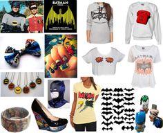 """Retro and Vintage Batman Stuff Look"" by hawkeyefan1847 on Polyvore"