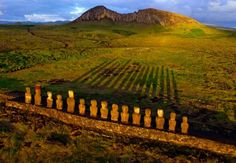 SUNRISE AT EASTER ISLAND  Photograph by Pierre Lesage