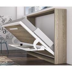 001 cama abatible con mesa
