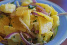 Salatat Bangar wa Batatis (Golden Beet and Potato Salad)