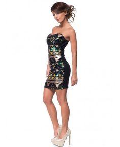 Изключително подходяща рокля за вашето парти | http://shopzone.bg/womens/рокли/85374/Zita-Moda-дамска-черна-рокля