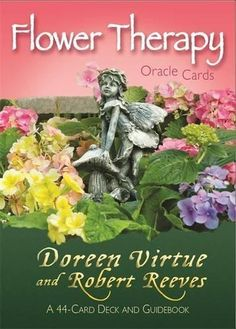9781401942601: Flower Therapy Oracle Cards: A 44-Card Deck and Guidebook