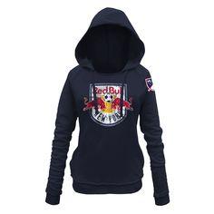 adidas Adult Women Primary Logo Fleece Hood Small Collegiate Navy