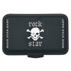 #Pirate #Lunchbox  #RockStar #Baby #bebé #fiambrera