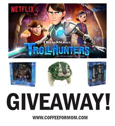 Don't Miss DreamWorks Trollhunters Part 2 premiering exclusively on Netflix December 15! #Giveaway