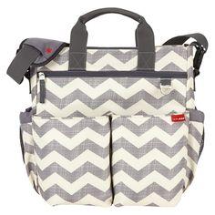 Skip Hop Duo Signature Diaper Bag - Chevron. Super cute diaper bag! It's a little smaller but perfect for under a stroller