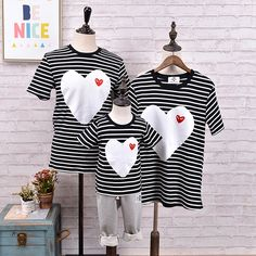Family look clothing New T-shirt matching mother daughter son outfits clothes matching family shirts