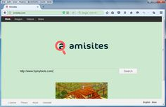 Amisites.com is classified as a browser hijacker which takes over various browsers including Internet Explorer, Mozilla Firefox, Google Chrome and so on.
