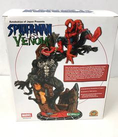 #Kotobukiya spider-man vs venom #statue marvel diorama  maquette #222/1500 -rare!,  View more on the LINK: 	http://www.zeppy.io/product/gb/2/232205498272/
