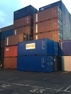 40 High Cube Cargo Ocean shipping storage containers Conex boxes